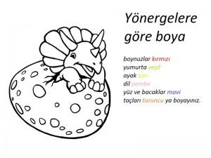 dinozor_boyama_yönergeye_göre_bouama