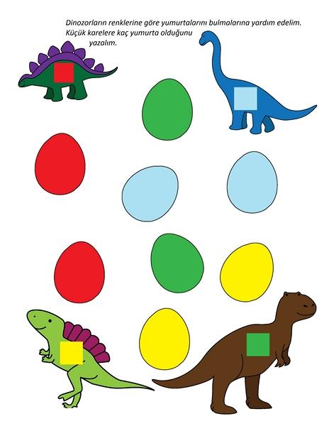 Photo of Dinozor Etkinlik Sayfaları