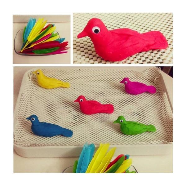 Photo of Oyun Hamurundan Kuşlar İle Renk Etkinliği
