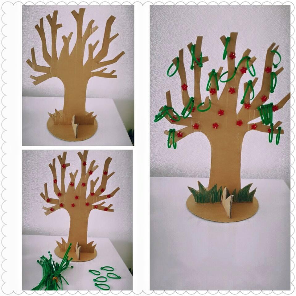 kartondan_ağaç_yapımı