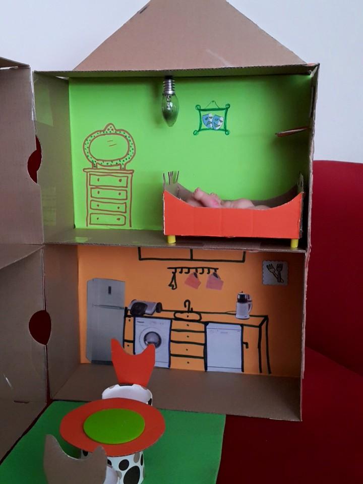 Evin Bölümleri Montessori Etkinlikleri Evimin Altın Topu