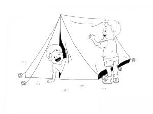 okul_öncesi_kamp_çadır_kurma