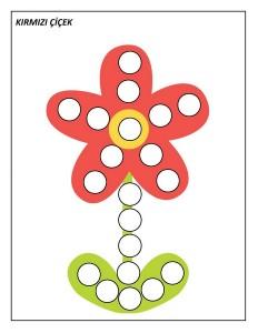 okul_öncesi_noktacıklı_kırmızı_çiçek