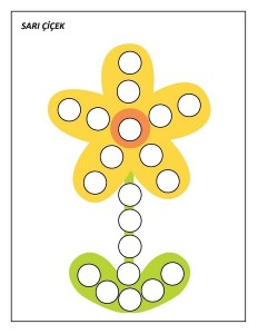 okul_öncesi_noktacıklı_sarı_çiçek