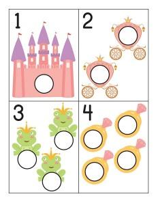 okul_öncesi_prenses_sayı_kartları