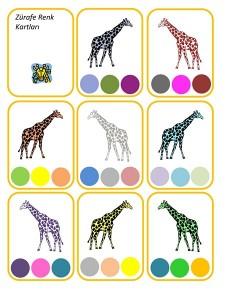okul_öncesi_zürafa_renk_çalışması