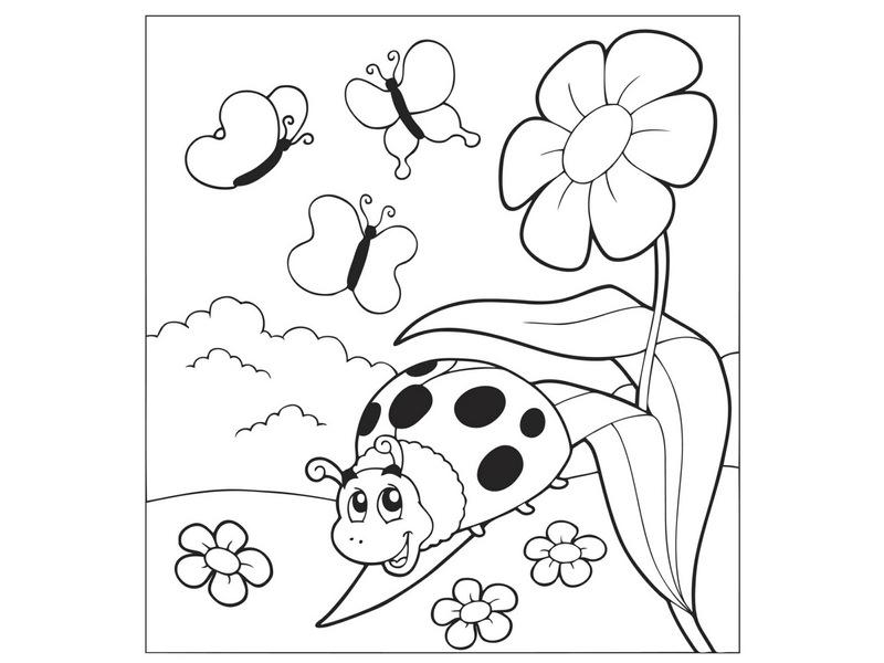 Photo of Uğurböceği Boyama Sayfaları
