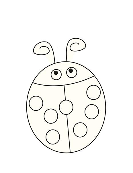 Uğur Böceği Sayı çalışması Okul öncesi Sayı Etkinlikleri Evimin