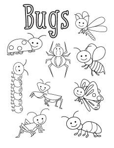 boyama_böcekler