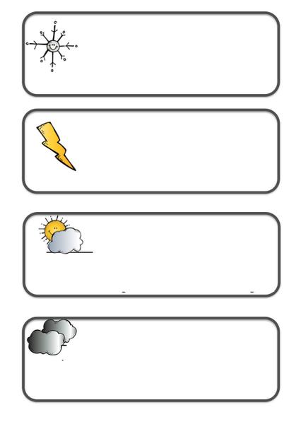Hava Durumu Etkinlikleri Okul öncesi Hava Durumu Evimin Altın Topu