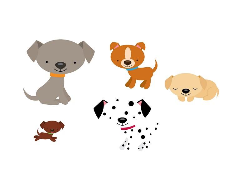 Okul öncesi Köpek Etkinlikleri Anasınıfı Için Köpek çalışma