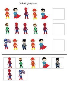 okul_öncesi_süper_kahramanlar_örüntü_çalışması