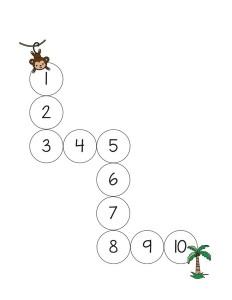 okul_öncesi_safari_sayı_çalışması