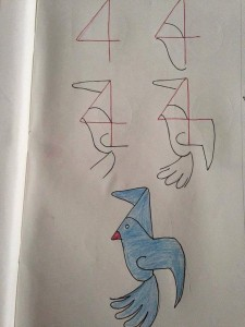 sayılardan_basit_hayvan_çizimleri