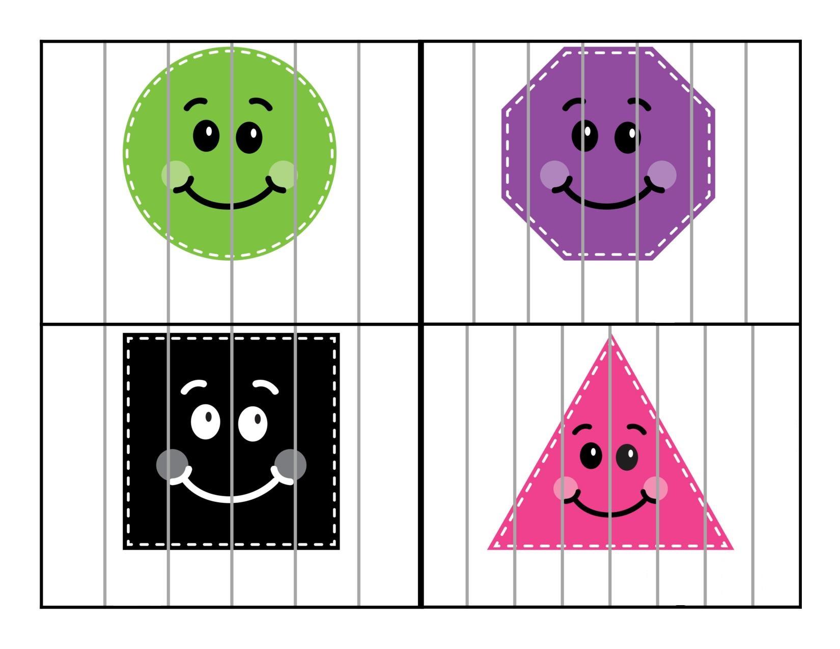 Photo of Şekiller Puzzle Çalışması