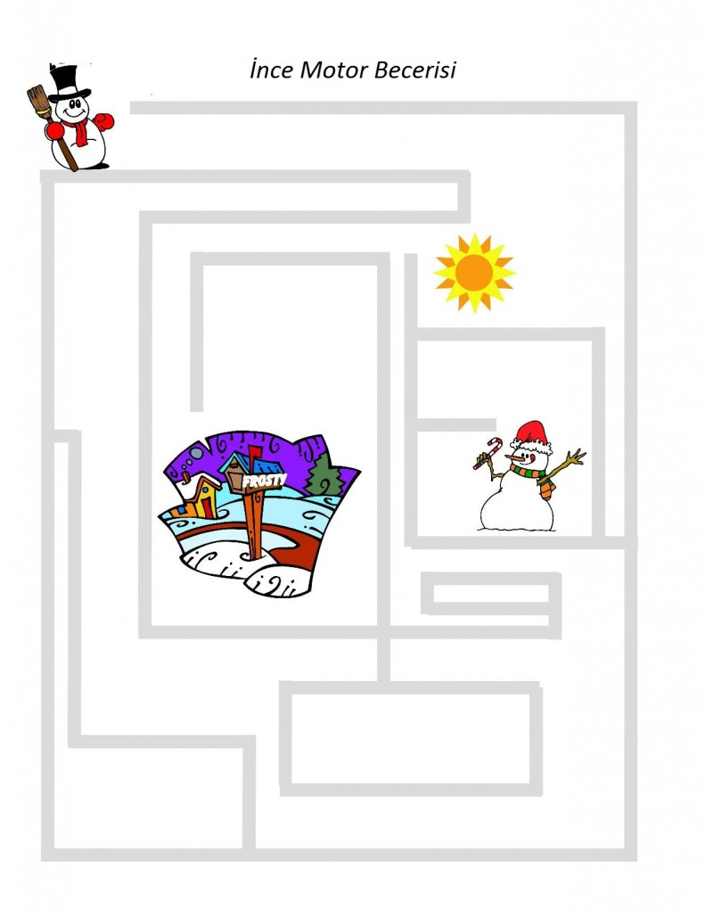 Snowman Preschool Pack - Part 1-page-003