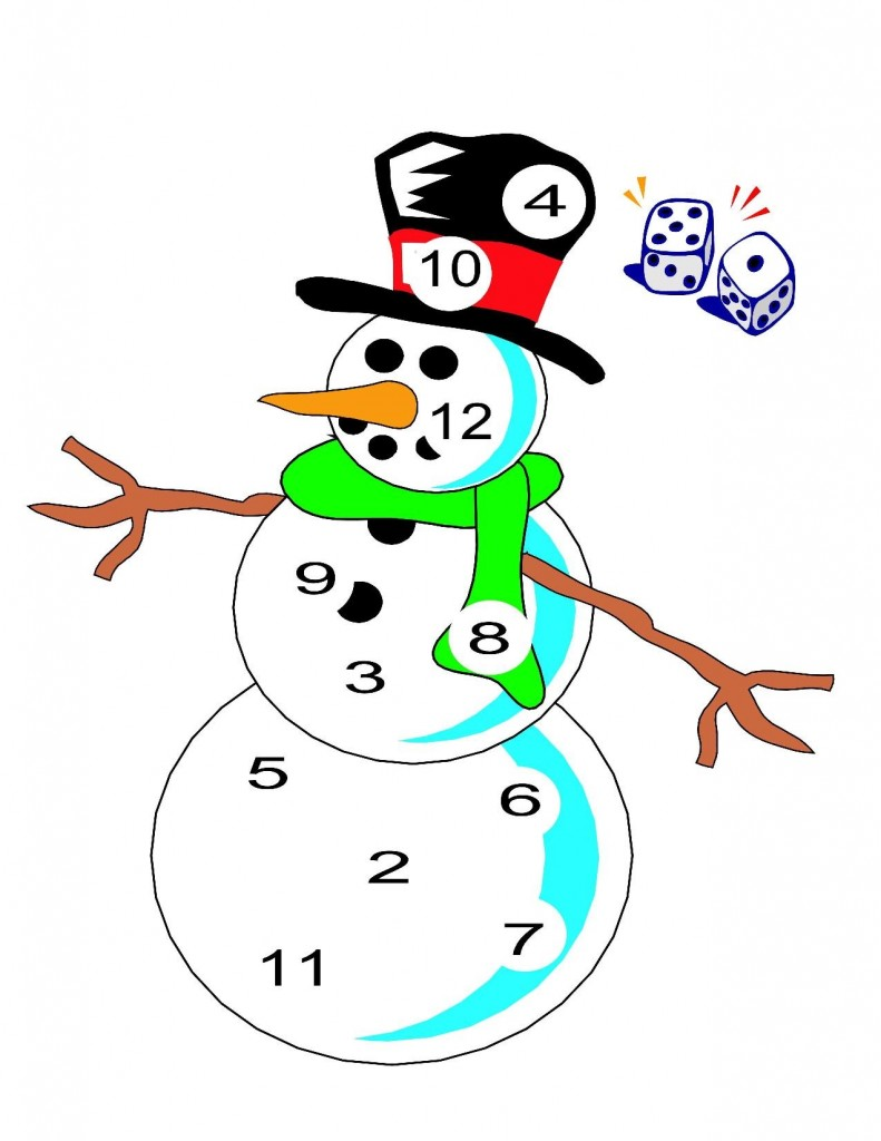 Snowman Preschool Pack - Part 1-page-008