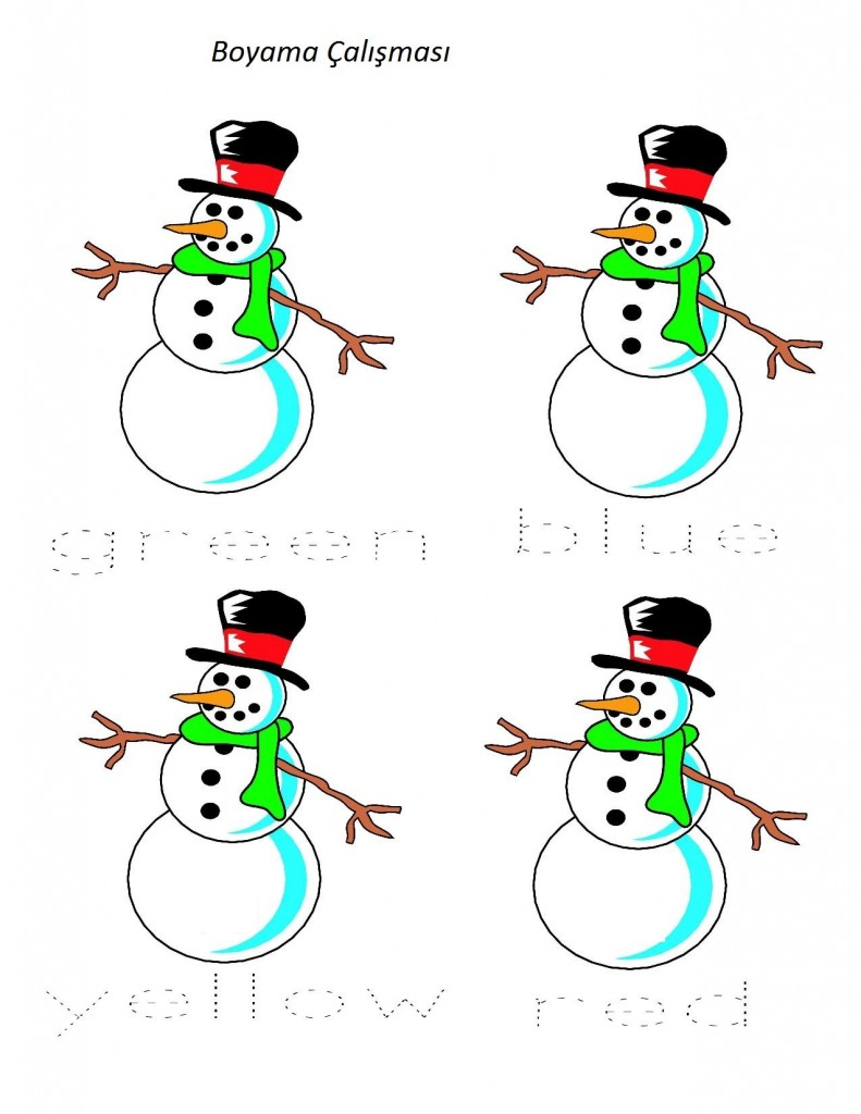 Snowman Preschool Pack - Part 1-page-010