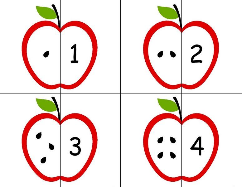 Sayılar Puzzle Okul öncesi Puzzle çalışmaları Evimin Altın Topu
