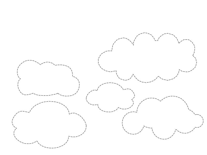 Bulut Boyama Sayfalari