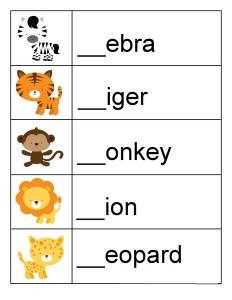 hayvanlar_ingilizce_çalışma