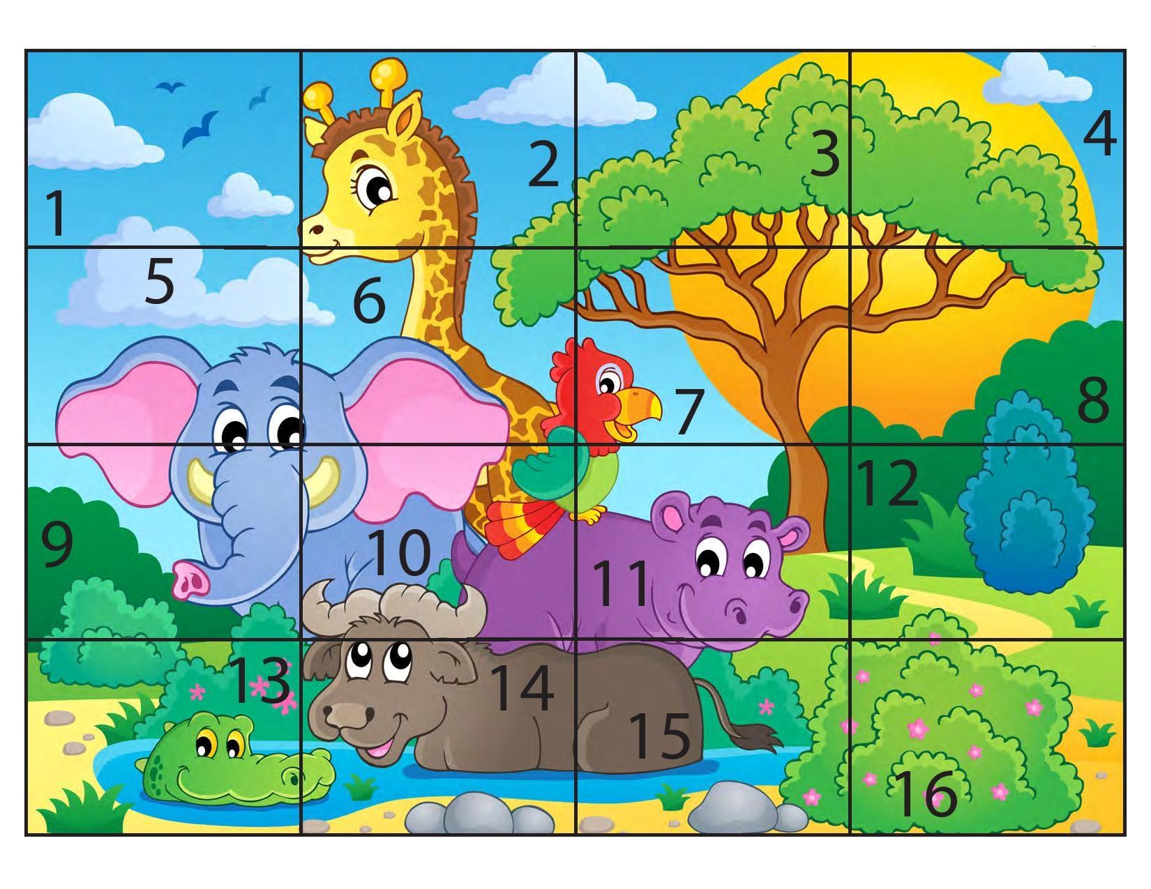 Photo of Hayvanlar Sayı Puzzle