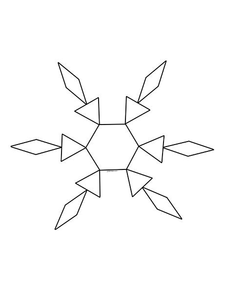 Kar Tanesi Konulu Etkinlikler Okul öncesi Kar Taneleri çalışmaları