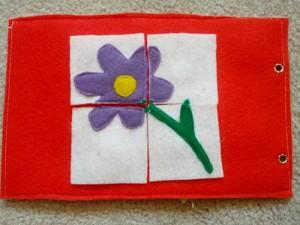 keçeden_ilk_kitabım_çiçek_puzzle