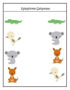 okul_öncesi_hayvanat_bahçesi_eşleştirme_aktivitesi