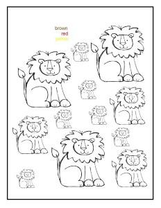 okul_öncesi_hayvanlar_aslan_boyama