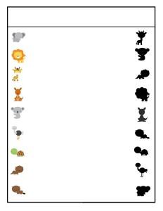 okul_öncesi_hayvanlar_gölge_etkinliği