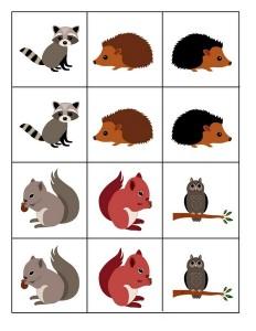 okul_öncesi_orman_hayvanları_kartlar