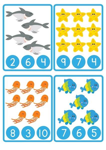 okul_öncesi_sayı_çalışmaları_hayvanlar