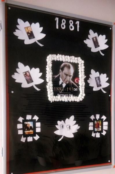 10 Kasim Ataturk U Anma Haftasi Pano Calismalari Evimin Altin Topu