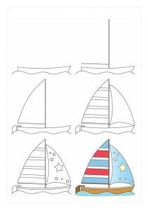 yelkenli_nasıl_çizilir