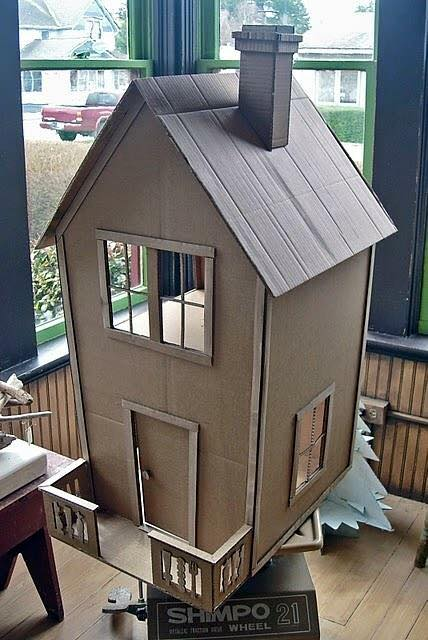 Kartondan Ev çalışmaları çocuklar Için Kartondan Ev Yapımı Evimin