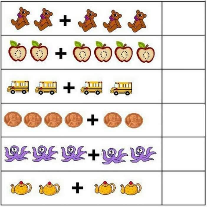 Resimli Toplama Cikarma Etkinlikleri Matematik Etkinlikleri