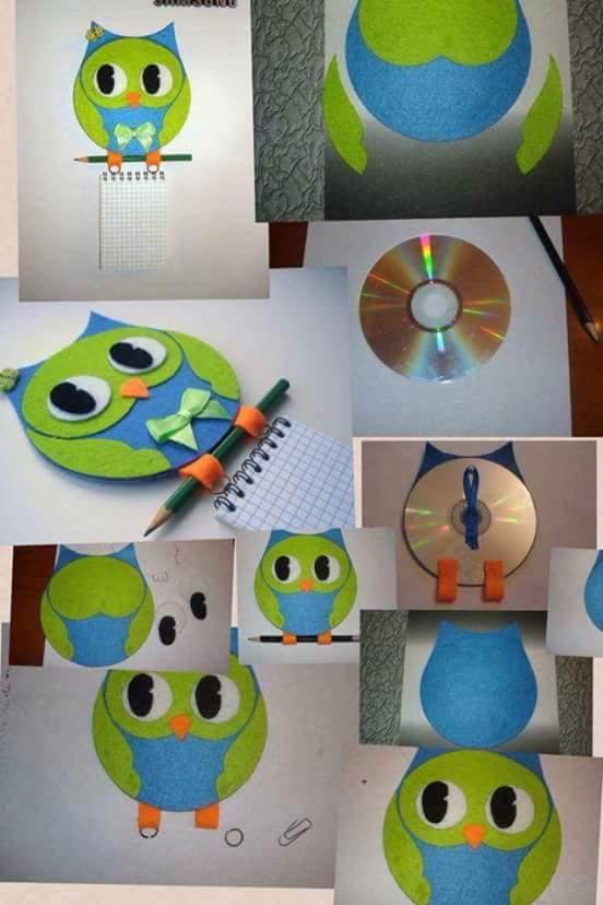 Cd sanat etkinlikleri okul ev etkinlikleri okul ev - Manualidades con cd usados ...