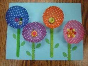 cup_cake_kalıplarından_çiçek