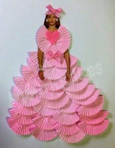 cup_cake_kalıplarından_elbise_giydirme