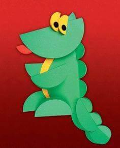 daire_kağıtlardan_dinozor