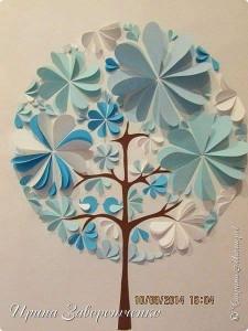 daire_kağıtlardan_harika_ağaç