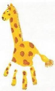 el_ayak_baskı_zürafa