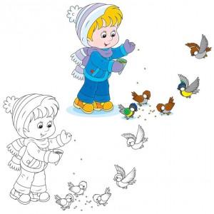 kış_renkli_boyama_çalışmaları