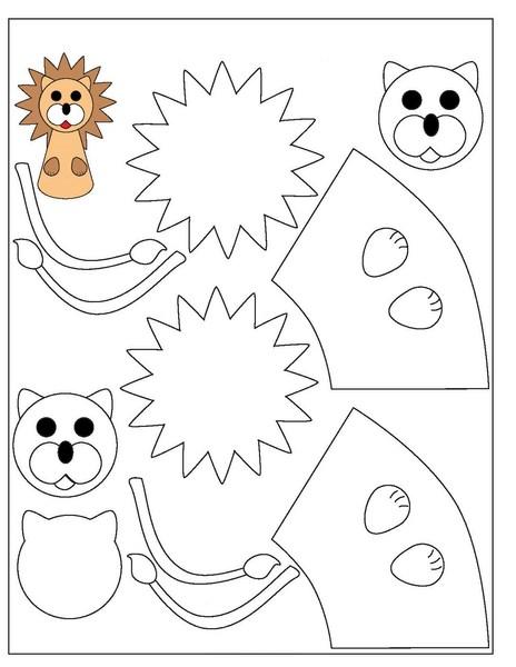 Masallar Için Parmak Kuklalar Okul öncesi En Güzel Parmak Kuklalar
