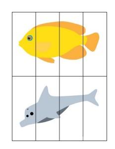 okyanus_hayvanları_puzzle_çalışması
