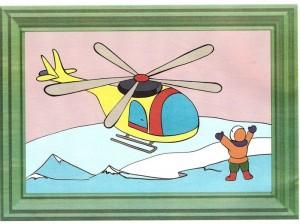 renkli_boyama_çalışması_helikopter