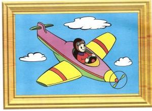 renkli_boyama_çalışması_uçak