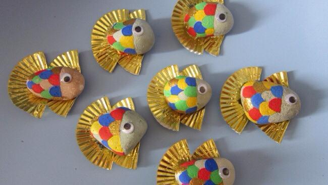 Taş Boyama Sanat Etkinlikleri Taş Boyama örnekleri Evimin Altın Topu