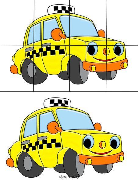 taksi_puzzle_çalışması